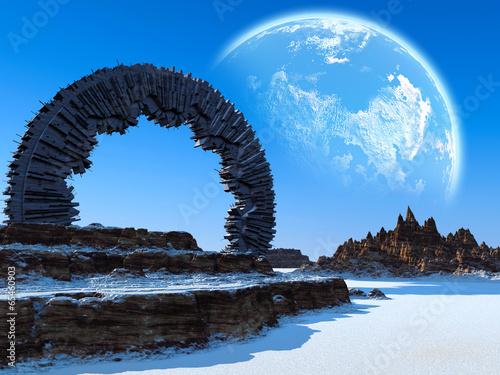 Fantasy landscape - 65460903