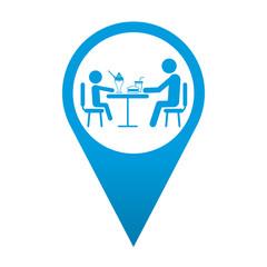 Icono localizacion simbolo restaurante