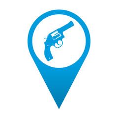 Icono localizacion simbolo revolver