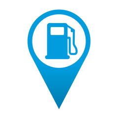 Icono localizacion simbolo gasolinera