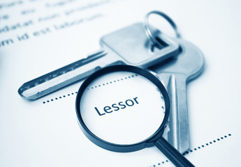 Lease Agreement For Lessor  Signing