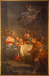 Bergamo - Paint of Last supper of Christ in Duomo