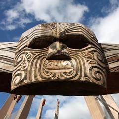 Maori tribal art in New Zealand