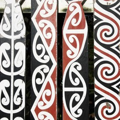 Maori art in New Zealand