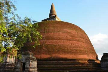 Memorable ruins Polonnaruwa  Sri Lanka a sacred place