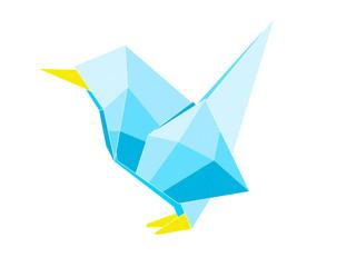 vogel van origami