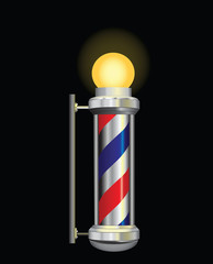 Symbol for a barber night