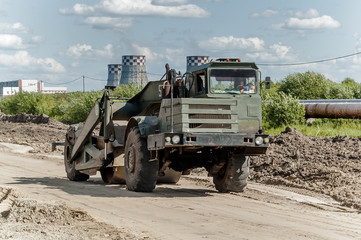 Road construction process