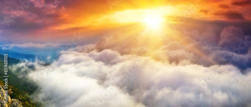 Leinwandbild Motiv Небеса