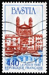 Postage stamp France 1994 City of Bastia