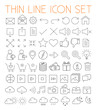 Thin Line Vector Icons