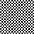 Checkered flag background. Seamless chessboard. - 65469751