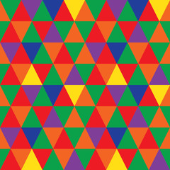 Pattern of geometric shapes. Triangle background.