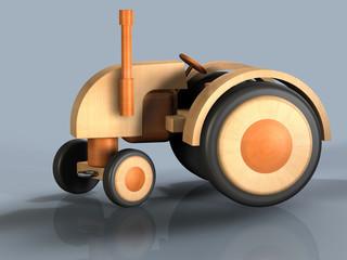 Traktor Holz N
