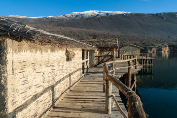 The Bay of the Bones at Lake Ohrid, Republic of Macedonia