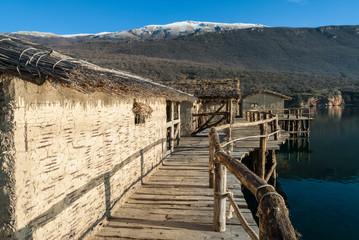 The Bay of the Bones at Lake Ohrid, Republic of Macedonia
