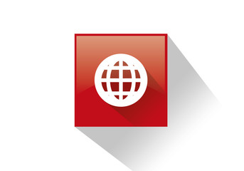 Simbolo globo internet