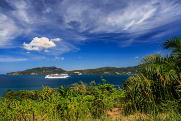 Cruise Ship Come To Phuket, Thailand
