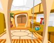 interior of modern kitchen - 65470572