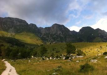 Leskovca in Julian Alps, Slovenia