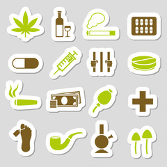 drug stickers
