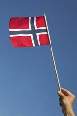 Norwegian flag.