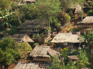 In  Burmese refugee camp near Mae Sot, Tak Province, Thailand.