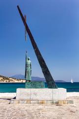 Pythagoras statue, Samos, Greece
