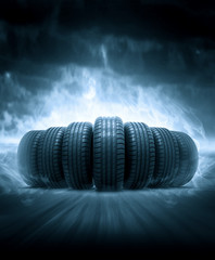 vehicle tire © efks