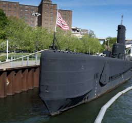 USS Croaker submarine in Lake Erie, Buffalo And Erie County