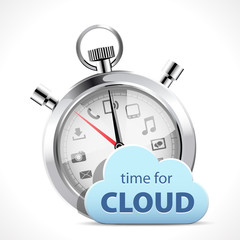 Stopwatch - Time for cloud
