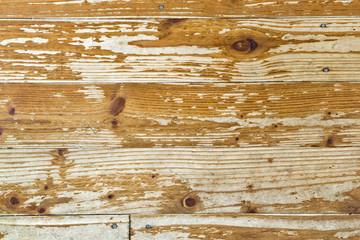 Holzboden, Holzhintergrund, Hintergrund, schäbig, abgenutzt