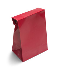 Folded Red Bag