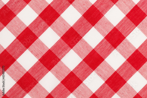 Red Table Cloth - 65480370