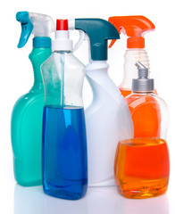 Cleaning spray products