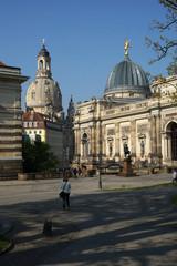 Dresden Frauenkirche und Kunstakademie