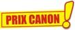 étiquette prix canon