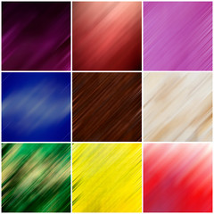 collage blurred backgrounds