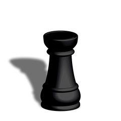 Torre nera scacchi