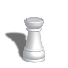 Torre bianca scacchi