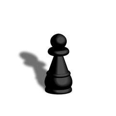 Pedina nera scacchi