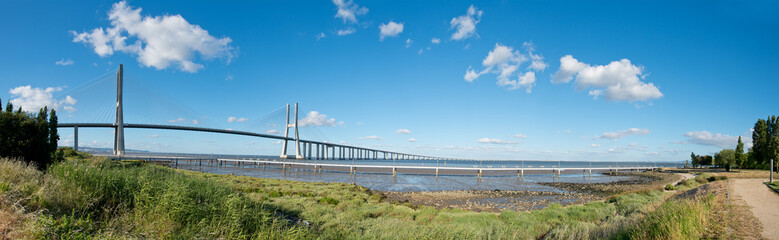 Vasco da Gama Bridge Panorama