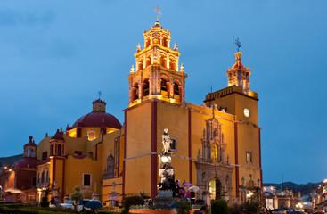 Guanajuato cathedral, Mexico.