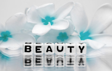 Beauty concept with colors