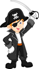 boy pirate cartoon