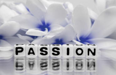 Passion with blue theme