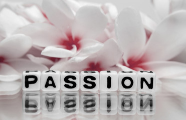 Passion with red flowers