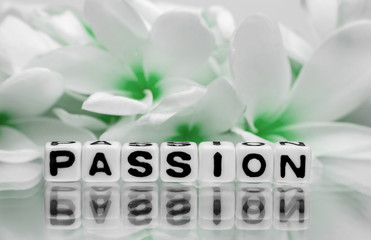 Passion with green flowers