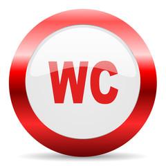 toilet glossy web icon