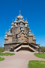 "The Church on the territory of the Park complex ""the Bogoslovka"""